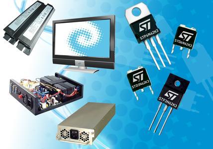 SuperMESH MOSFET-Halbleiter gehören zu den 750 neuen STMicroelectronics-Produkten, die Kunden ab jetzt bei RS ordern können.