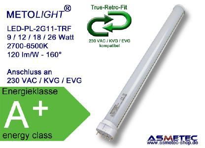 METOLIGHT LED Kompaktröhre 2G11 der Serie TRF