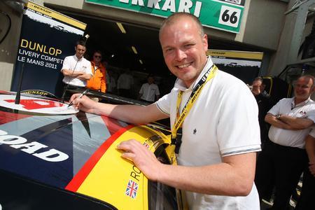 Dunlop Art Car Winner 2011: Mik Whiting