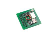Kompaktes RFID-Reader-Modul in Steckdosengröße mit günstig liegender Antenne: Elatec TWN4 Palon Square M, Bildquelle: Elatec
