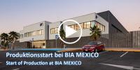 BIA TechVideo: Produktionsstart bei BIA MEXICO