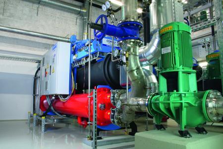 Quantum Kältemaschine bei der Allianz Deutschland AG in Unterföhring