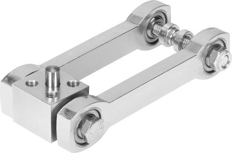 Almost backlash-free: the moment compensator DARD, a compensating coupling for linear drives / Photos: Festo AG & Co. KG