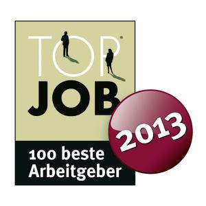secova TOP JOB 2013 Siegel