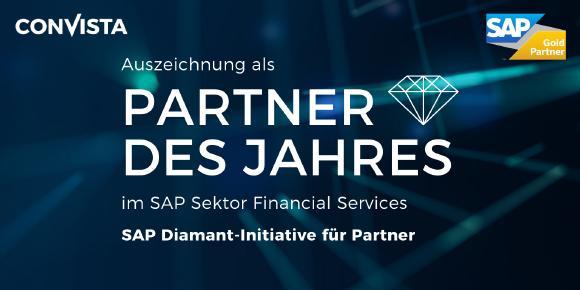 """Auszeichnung der ConVista Consulting AG zum """"SAP-Partner des Jahres"""""""