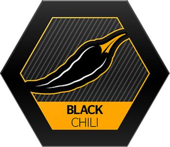 "Black Chili"" Logo"