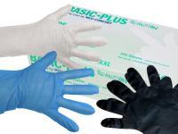 AMPri TPE Handschuhe Basic-Plus Revolution in 3 Farben - Weiß, Blau, Schwarz