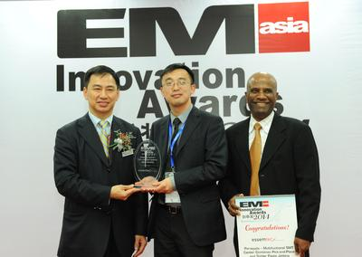 Essemtec's SMT Assembler with Integrated Solder Paste Jet Printer Picks Up An EM Asia Innovation Award