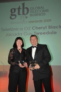 GTB Award 2009: Links:Cheryl Black. Rechts: Guy Tweedale.