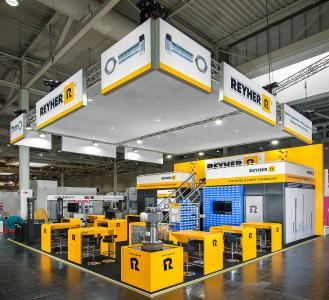 REYHER is showcasing the scope of Rapid Prototyping for joining technology at its Industrial Supply stand