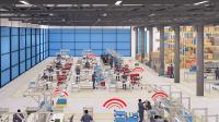 Mit 'nexy' zeigt der steute-Geschäftsbereich Wireless auf dem Gemeinschaftsstand von it's OWL eine neue kabellose Sensor-Netzwerklösung für Produktion und Logistik / Quelle: steute Technologies GmbH & Co. KG