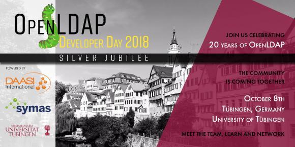 5th OpenLDAP Developer Day – Silver Jubilee