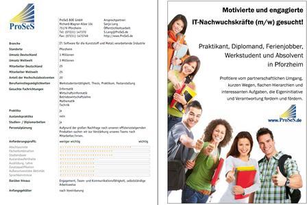 ProSeS BDE GmbH für Studenten und Absolventen