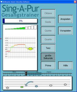 """MINI Nr.7 """"Sing-A-Pur - Gesangstrainer"""""""