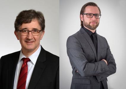 Udo Schnell (links) und Benedikt Hofmann bilden die neue Doppelspitze der Chefredaktion vom MM Maschinenmarkt.