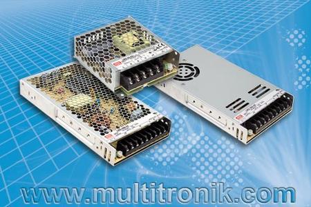 LRS-Serie von Mean Well bei M+R Multitronik GmbH