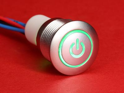57M with Wire-Leads and Power-LED