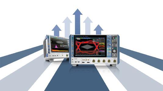 Beim Kauf eines R&S RTO2000 oder R&S RTP können Kunden jetzt gratis die Bandbreite erweitern. Bild: Rohde & Schwarz