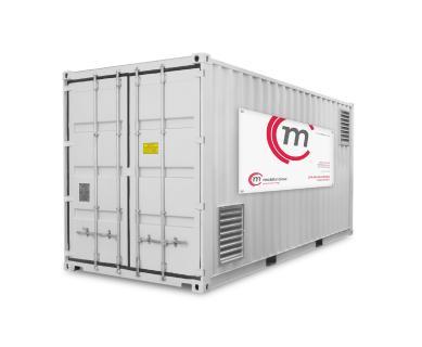 Heizcontainer HC 750 - 2000