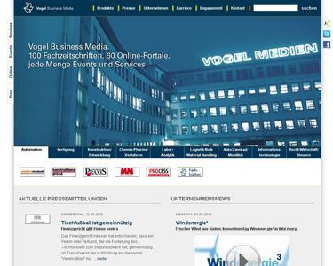 Testen Sie neue Corporate Site