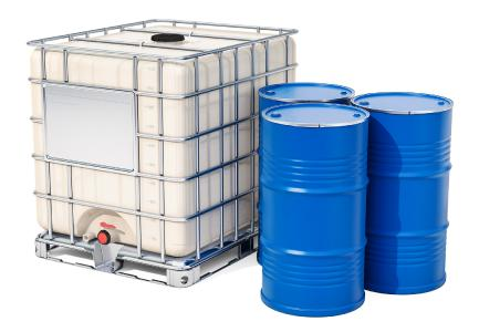 A large number of large-volume containers must be tested for leaks.