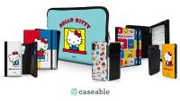 Sanrio announced as caseable's new licensing partner with its first Hello Kitty collection