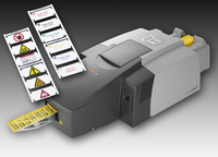 Weidmüller's ink-jet printer 'PrintJet PRO': simple, efficient and environmentally friendly marking/Water-based, environmentally friendly ink for both black-and-white and colour prints