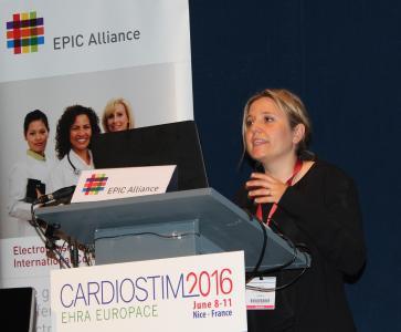 Cardiostim 2016 EPIC Symposium Dr. Laura Vitali Serdoz