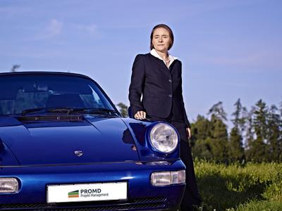 Geschäftsführerin Maja Schreiber
