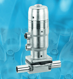 Aseptic filling valve range extended to small nominal sizes