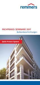 Im März startete die erste Runde der Fachpraxis-Seminare Balkonbeschichtungen (Bildquelle: Remmers, Löningen)