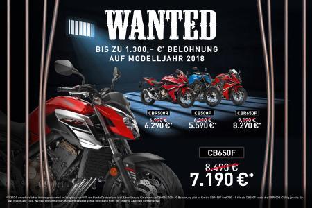 Honda Wanted!
