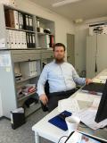 Fachbauleiter Alexander Romberg, verantwortlich für die TGA-Planung des Düsseldorfer Bürohochhauses (Foto: Alexander Romberg)