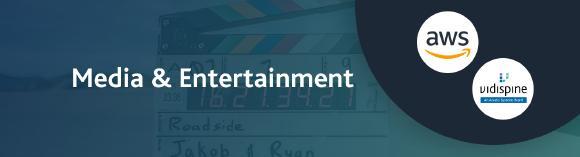 "Vidispine unterstützt Initiative ""AWS for Media & Entertainment"" (Copyright: Arvato Systems)"
