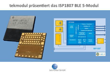tekmodul präsentiert ultrakompakte BLE und LoRa Module von InsightSiP