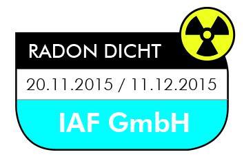 Abb.2: Zertifizierung des Elastomers durch IAF Institut