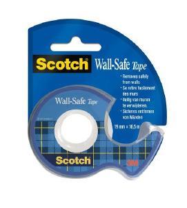 Das neue Scotch Wall-Safe Klebeband von 3M haftet sicher und lässt sich sauber wieder entfernen