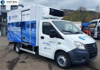 """Neu! ORTEN Electric-Trucks mit vollelektrischer E 46 Gazelle """"CityCooler"""""""