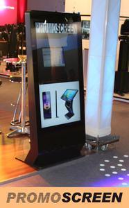 Digital Signage, Mediedisplays und Kiosksysteme mieten bei Promoscreen .de