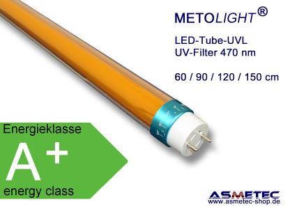 Metolight LED-UVL-Röhre, 470 nm
