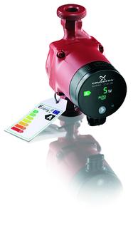 Grundfos Alpha 2 mit Energielabel