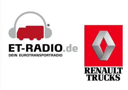 Renault Trucks ist Präsentationspartner von ET-RADIO