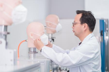 Prüfung Atemschutzmasken