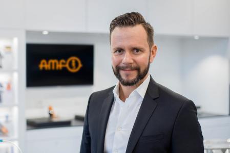 """Manuel Nau, Verkaufsleiter bei AMF: """"Speziell auf die Additive Fertigung abgestimmte Nullpunktspannmodule von AMF erfüllen die beim 3D-Druck auftretenden ganz besonderen Anforderungen."""""""