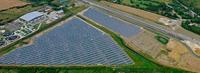 Solarkraftwerk in Ebbsfleet