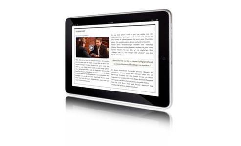 Kundenexperte, Buchautor und Vortragsredner Edgar K. Geffroy präsentiert das iVideo Book Business Überflieger im Internet auf dem deutschen Buchmarkt (erhältlich im Apple iBookstore)