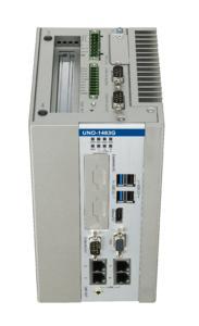 Embedded IPC UNO-1483G mit i3-CPU und freien PCI-Slot (Quelle: AMC/Advantech)