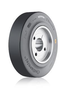ContiTech bietet seine Rotafrix-Reibringe jetzt auch als Paketlösung mit dem passenden Radkörper an / Foto: ContiTech