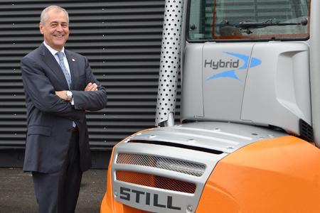 Seit über 30 Jahren Mitglied der STILL Familie: Helmuth Viertl, Geschäftsführer von STILL Österreich