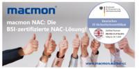 macmon NAC BSI Zertifizierung